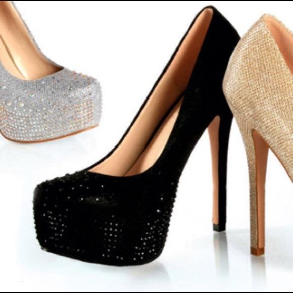 Delores Pump   Metallic Heels   Wittner Shoes